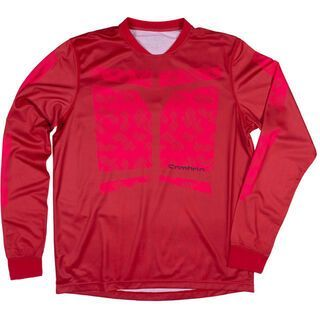 Sombrio Duster Jersey, red - Radtrikot