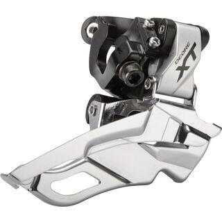 Shimano Umwerfer Deore XT FD-M781 3x10 Down Swing - Dual-Pull, silber