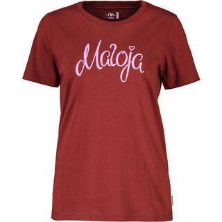 Maloja ChapisunM., maroon - T-Shirt