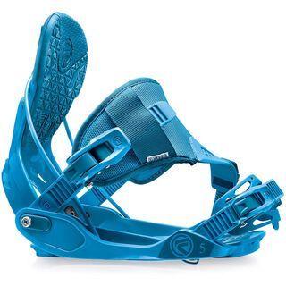 Flow Five Hybrid 2015, blue - Snowboardbindung