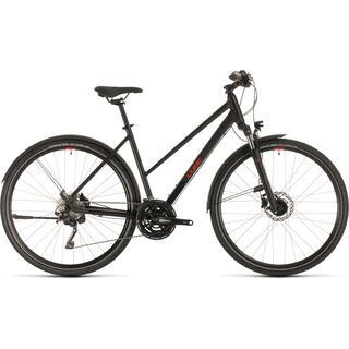 Cube Nature EXC Allroad Trapeze 2020, black´n´red - Fitnessbike
