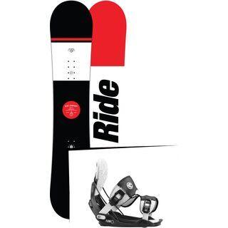 Set: Ride Agenda Wide 2017 + Flow Five 2016, stormtrooper - Snowboardset