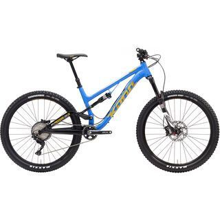 Kona Process 134 DL 2017, blue/yellow - Mountainbike