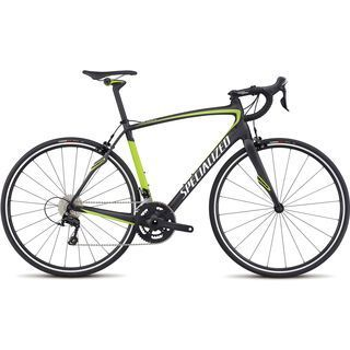 Specialized Roubaix SL4 Sport 2017, carbon/hy green/wht silver - Rennrad