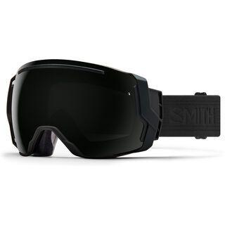 Smith I/O 7 inkl. Wechselscheibe, blackout/Lens: sun black chromapop - Skibrille