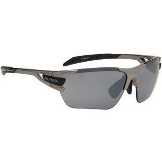 Alpina Tri-Scray S inkl. Wechselscheibe, tin black/Lens: ceramic mirror black - Sportbrille