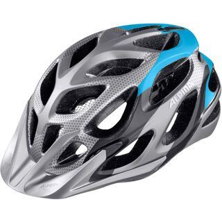 Alpina Mythos 2.0 LE, darksilver blue - Fahrradhelm