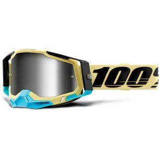100% Racecraft - Silver Mirror airblast