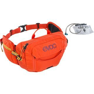 Evoc Hip Pack 3l + Hydration Bladder 1,5l, orange - Hüfttasche
