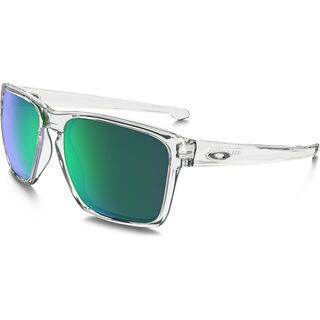 Oakley Sliver XL, polished clear/Lens: jade iridium - Sonnenbrille