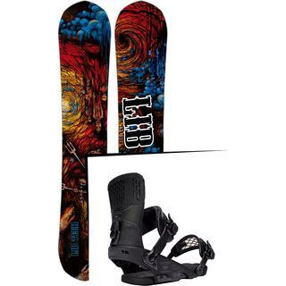 Set: Lib Tech From Hell Hot Knife 2017 + Ride Rodeo (1178212S)