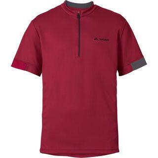 Vaude Mens Tamaro Shirt II, dark indian red - Radtrikot