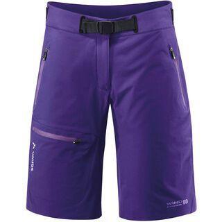 Vaude Women's Badile Shorts, royal violet - Shorts