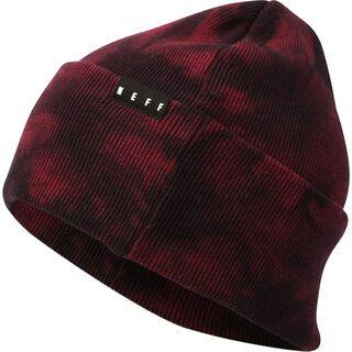 Neff Lawrence Washed Beanie, maroon - Mütze