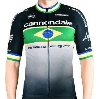 Cannondale CFR Brasil Replica Jersey 2020, black/brasil - Radtrikot