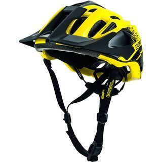 ONeal Q Fidlock Helmet, black/neon yellow - Fahrradhelm