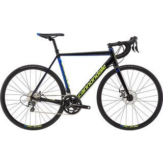 Cannondale CAAD Optimo Disc Tiagra 2017, black/blue/volt - Rennrad