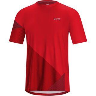 Gore Wear C5 Trail Trikot Kurzarm, red - Radtrikot