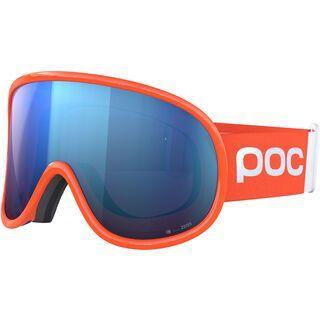 POC Retina Big Clarity Comp inkl. WS, fluo orange/Lens: spektris blue - Skibrille