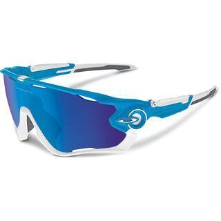Oakley Jawbreaker, sky/sapphire iridium - Sportbrille