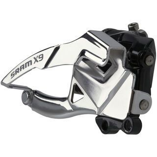 SRAM X9 Umwerfer - 2x10, Low Direct-Mount, Top-Pull – S3 (22,1 mm)