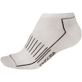 Endura Coolmax Race Trainer Sock (Dreierpack), weiß - Radsocken