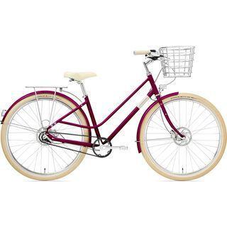 Creme Cycles Eve 8 2020, burgundy - Cityrad
