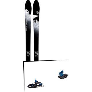 Set: Icelantic Sabre 89 2018 + Hagan Core Bindung
