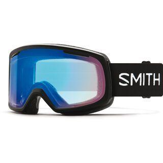 Smith Riot inkl. WS, black/Lens: cp storm rose flash - Skibrille