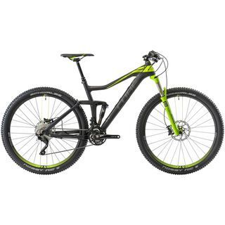 Cube Stereo 120 HPC Pro 29 2014, black/green - Mountainbike