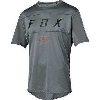 Fox Flexair SS Moth Jersey, grey vintage - Radtrikot