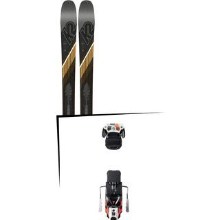 Set: K2 SKI Wayback 96 2019 + Atomic Warden MNC 13 white/black/orange