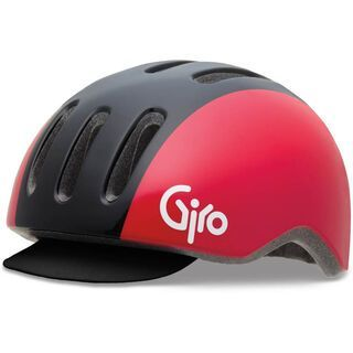 Giro Reverb, black/red retro - Fahrradhelm