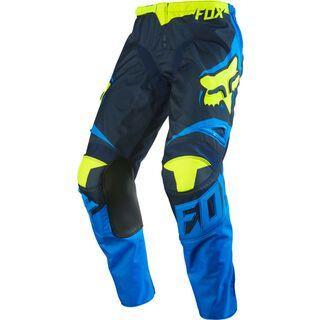 Fox 180 Youth Race Pant, blue yellow - Radhose