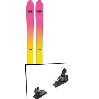 Set: DPS Skis Yvette 112 RP2 Foundation 2018 + Salomon Warden MNC 13 black/grey