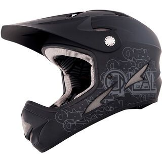 ONeal Backflip Fidlock DH Helmet Evo Flat, black - Fahrradhelm