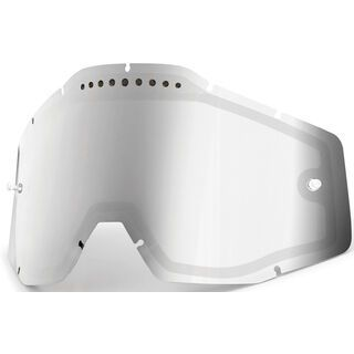 100% Racecraft/Accuri/Strata Vented Dual Replacement Lens, mirror silver
