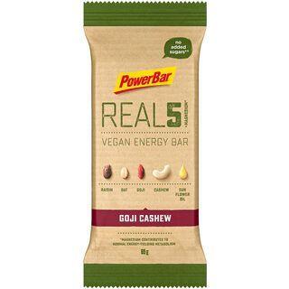 PowerBar Real5 Vegan Energy Bar - Goji Cashew