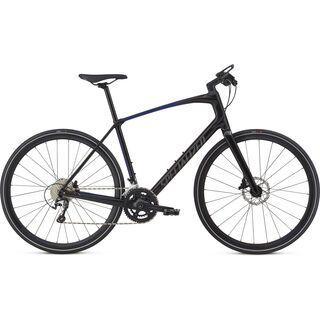 *** 2. Wahl *** Specialized Sirrus Elite Carbon 2018, black/fade/charcoal - Fitnessbike | Größe S // 41,6 cm