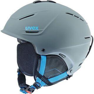 uvex p1us, grey blue mat - Skihelm