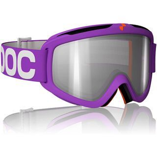 POC Iris X, Purple/Clear/Silver mirror - Skibrille
