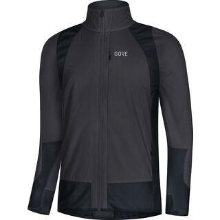Gore Wear C5 Partial Gore Windstopper Isolierte Jacke, terra grey/black - Radjacke
