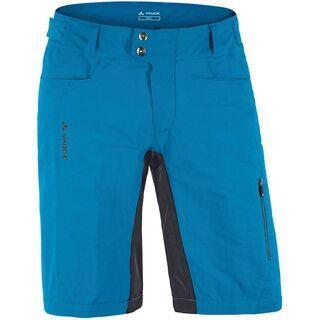 Vaude Men's Siros Shorts, teal blue - Radhose