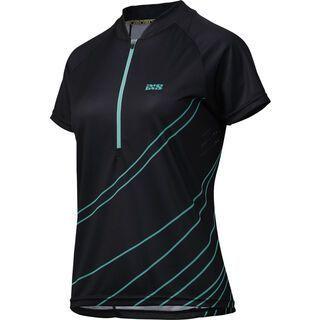 IXS Trail 6.2 Women Jersey, black turquoise - Radtrikot