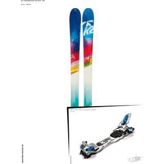 K2 SKI Set: SuperBright 90 2014 + Marker F12 Tour EPF
