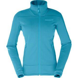 Norrona falketind Power Stretch Pro Jacket (W), iceberg blue - Fleecejacke