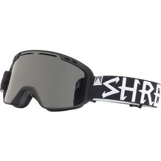 Shred Amazify, blackout/Lens: stealth reflect smoke - Skibrille
