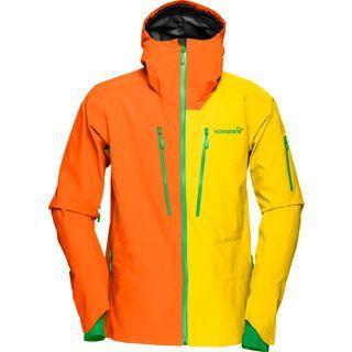 Norrona lofoten Gore-Tex Pro Jacket, magma yellow - Skijacke