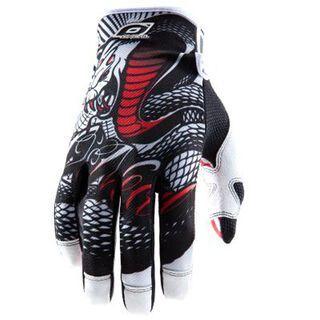 ONeal Jump Gloves Serpent, black/white - Fahrradhandschuhe