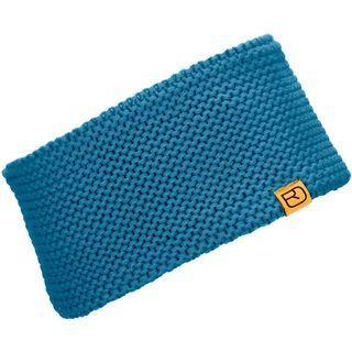 Ortovox Headband Heavy Gauge, blue sea - Stirnband